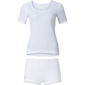 Odlo Cubic Underwear Set Women, white - snow white